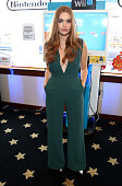 Actress Holland Roden attends The Nintendo Lounge on the TV Guide Magazine yacht during ComicCon International 2015 on July 9 2015 in San Diego...
