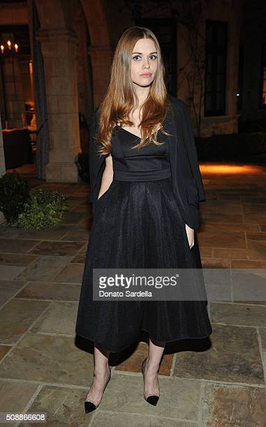 Actress Holland Roden attends the PSLA Winter Gala on February 6 2016 in Beverly Hills California