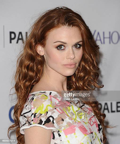 Actress Holland Roden attends the 'Teen Wolf' event at the 32nd annual PaleyFest at Dolby Theatre on March 11 2015 in Hollywood California