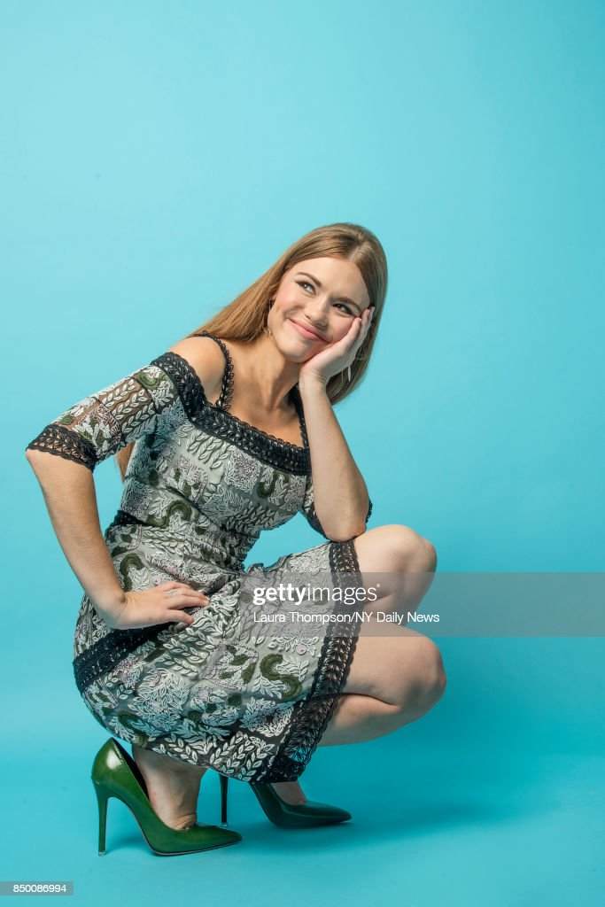Actress Holland Roden is photographed for NY Daily News on October 8, 2016 at Comic Con in New York City.