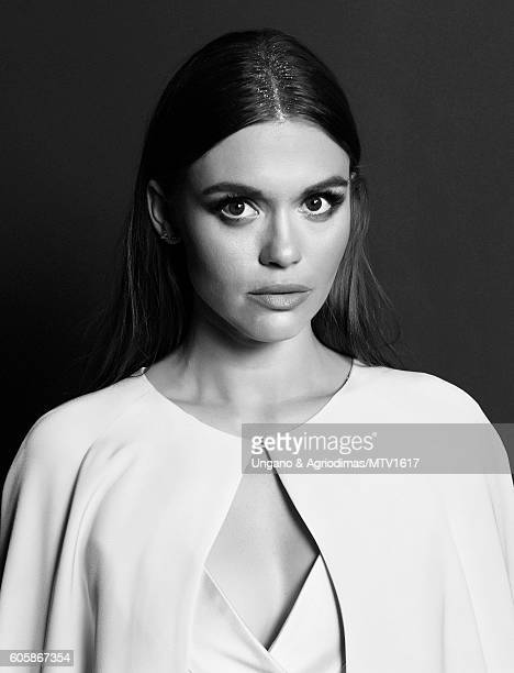 Actress Holland Roden poses for a portrait at the 2016 MTV Video Music Awards at Madison Square Garden on August 28 2016 in New York City