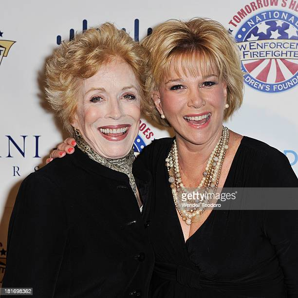 Actress Holland Taylor and TV Personality Joan Lunden attend the 2013 Children's Foundation Hero Awards Gala at The Edison Ballroom on September 23...