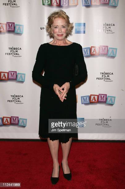 Actress Holland Taylor arrives at the 7th Annual Tribeca Film Festival 'Baby Mama' Opening Night Premiere at th Ziegfeld Theater on April 23 2008 in...