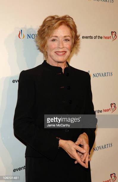Actress Holland Taylor arrives to the Events of The Heart 1st Annual Benefit Gala 'Heart On' at Jazz at Lincoln Center on October 1 2007 in New York...
