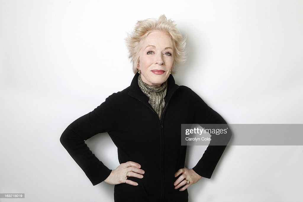 Actress Holland Taylor is photographed for Los Angeles Times on February 21, 2013 in New York City. PUBLISHED IMAGE.