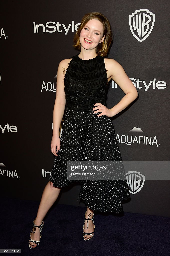 Actress Holliday Grainger attends InStyle and Warner Bros. 73rd Annual Golden Globe Awards Post-Party at The Beverly Hilton Hotel on January 10, 2016 in Beverly Hills, California.