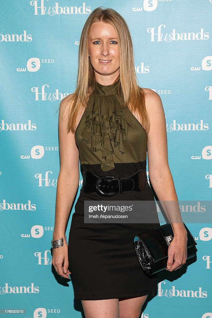 Actress Holly Holstein attends the premiere of CW Seed's 'Husbands' at The Paley Center for Media on August 14, 2013 in Beverly Hills, California.