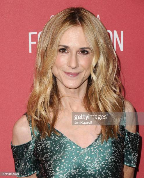 Actress Holly Hunter arrives at SAGAFTRA Foundation Patron of the Artists Awards 2017 on November 9 2017 in Beverly Hills California