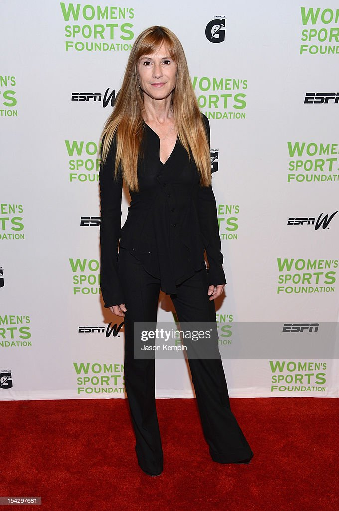 Actress Holly Hunter attends the 33rd Annual Salute To Women In Sports Gala at Cipriani Wall Street on October 17, 2012 in New York City.