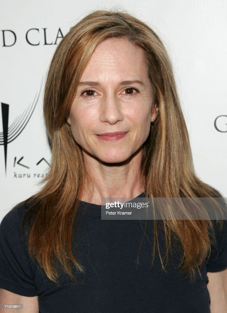 Actress Holly Hunter attends the Grand Classics Screening of 'The King of Marvin Gardens' sponsored by Karu Y restaraunt at the Soho House on June 27...
