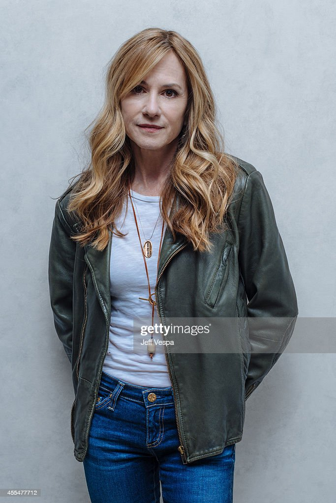 Actress <a gi-track='captionPersonalityLinkClicked' href=/galleries/search?phrase=Holly+Hunter&family=editorial&specificpeople=201880 ng-click='$event.stopPropagation()'>Holly Hunter</a> photographed for a Portrait Session at the 2014 Toronto Film Festival on September 4, 2014 in Toronto, Ontario.