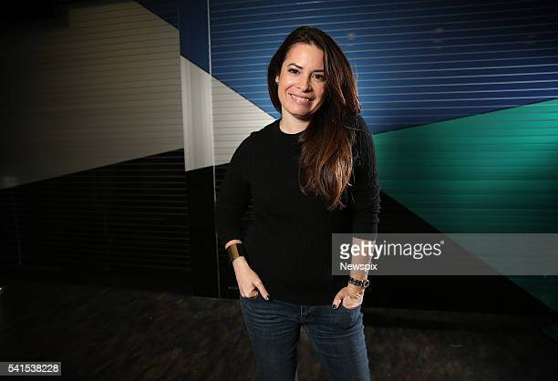 Actress Holly Marie Combs poses during the 2016 Supanova Pop Culture Expo at the Olympic Park in Sydney New South Wales