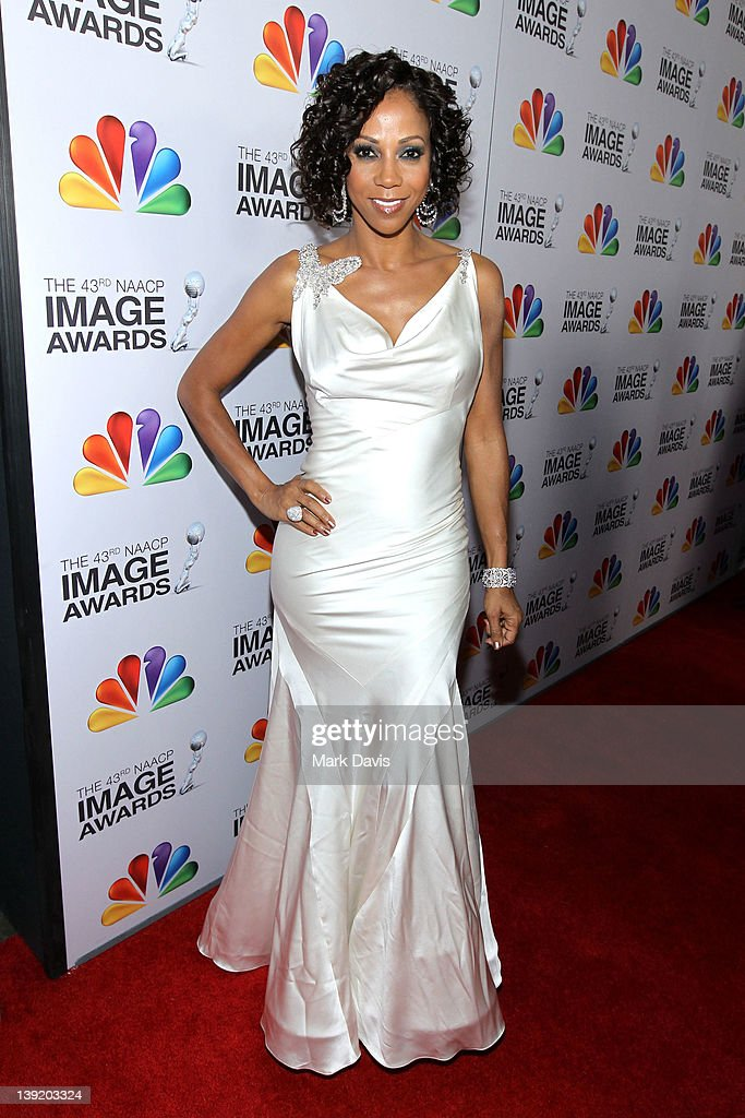 Actress Holly Robinson Peete arrives at the 43rd NAACP Image Awards held at The Shrine Auditorium on February 17, 2012 in Los Angeles, California.