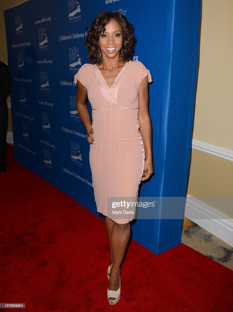 Actress Holly Robinson Peete arrives at the Children's Defense Fund of California 22nd Annual Beat The Odds Awards at Beverly Hills Hotel on December 6, 2012 in Beverly Hills, California.