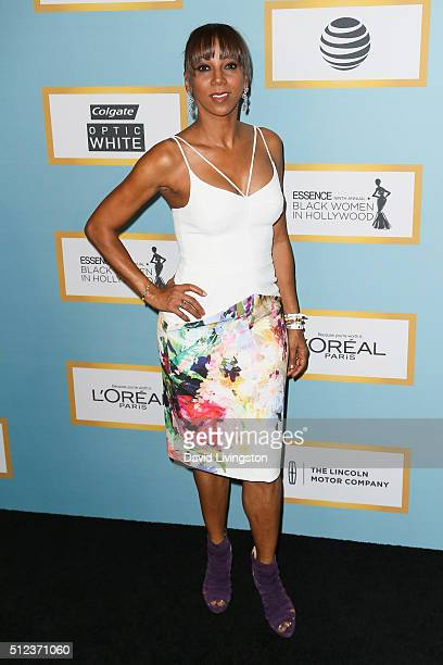 Actress Holly Robinson Peete arrives at the Essence 9th Annual Black Women event in Hollywood at the Beverly Wilshire Four Seasons Hotel on February...
