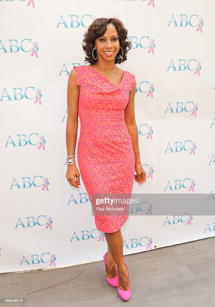 Actress Holly Robinson Peete attends ABC's Mother's Day luncheon at the Four Seasons Hotel Los Angeles at Beverly Hills on May 8, 2013 in Beverly Hills, California.