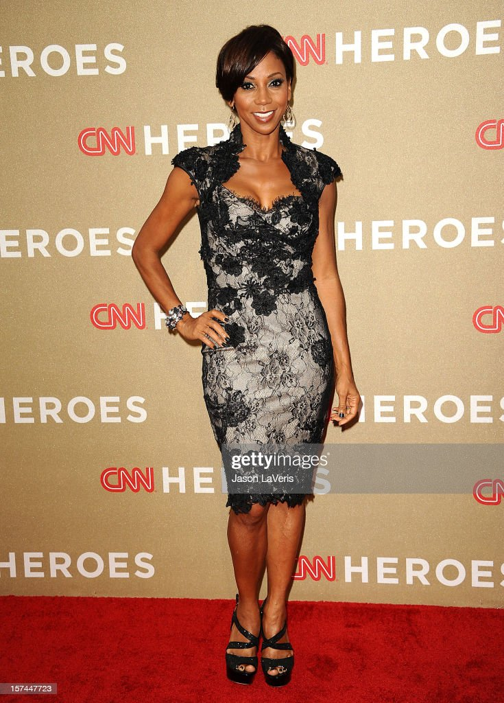 Actress Holly Robinson Peete attends CNN Heroes: An All-Star Tribute at The Shrine Auditorium on December 2, 2012 in Los Angeles, California.
