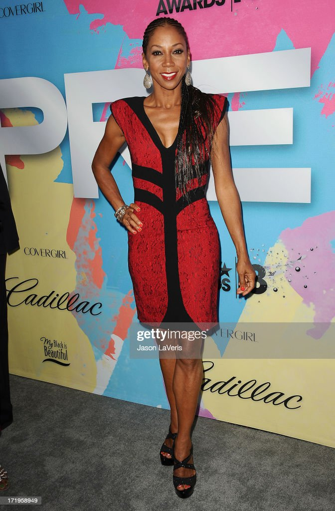 Actress Holly Robinson Peete attends Debra L. Lee's 7th annual VIP pre BET dinner event at Milk Studios on June 29, 2013 in Los Angeles, California.