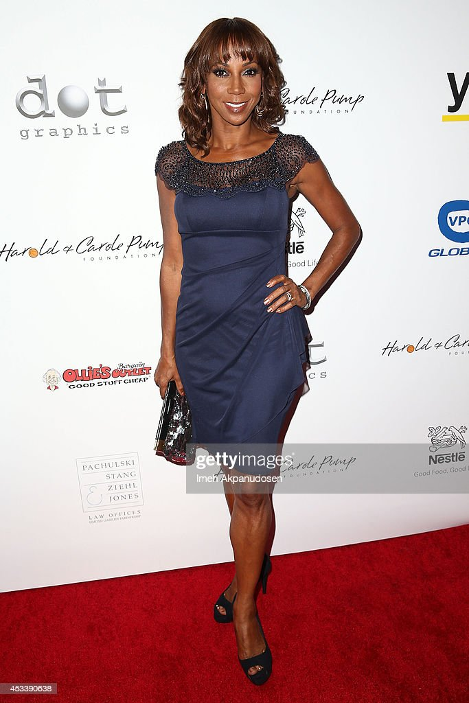 Actress <a gi-track='captionPersonalityLinkClicked' href=/galleries/search?phrase=Holly+Robinson+Peete&family=editorial&specificpeople=213716 ng-click='$event.stopPropagation()'>Holly Robinson Peete</a> attends the 14th Annual Harold & Carole Pump Foundation Gala at the Hyatt Regency Century Plaza on August 8, 2014 in Century City, California.