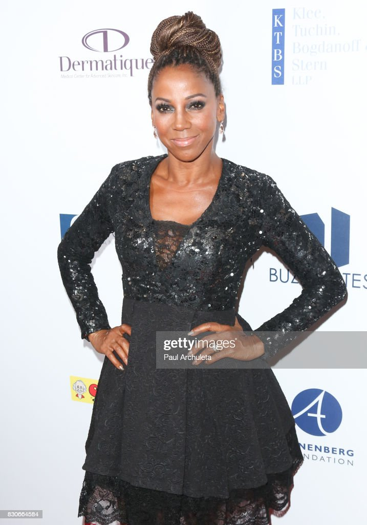 Actress Holly Robinson Peete attends the 17th Annual Harold & Carole Pump Foundation Gala at The Beverly Hilton Hotel on August 11, 2017 in Beverly Hills, California.