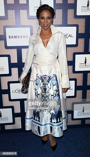Actress Holly Robinson Peete attends the 8th Annual ESSENCE Black Women In Hollywood Luncheon at the Beverly Wilshire Four Seasons Hotel on February...