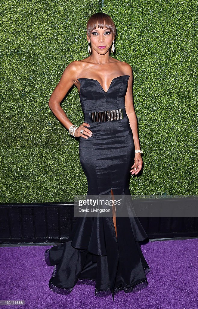Actress <a gi-track='captionPersonalityLinkClicked' href=/galleries/search?phrase=Holly+Robinson+Peete&family=editorial&specificpeople=213716 ng-click='$event.stopPropagation()'>Holly Robinson Peete</a> attends the HollyRod Foundation's 16th Annual DesignCare at The Lot Studios on July 19, 2014 in Los Angeles, California.