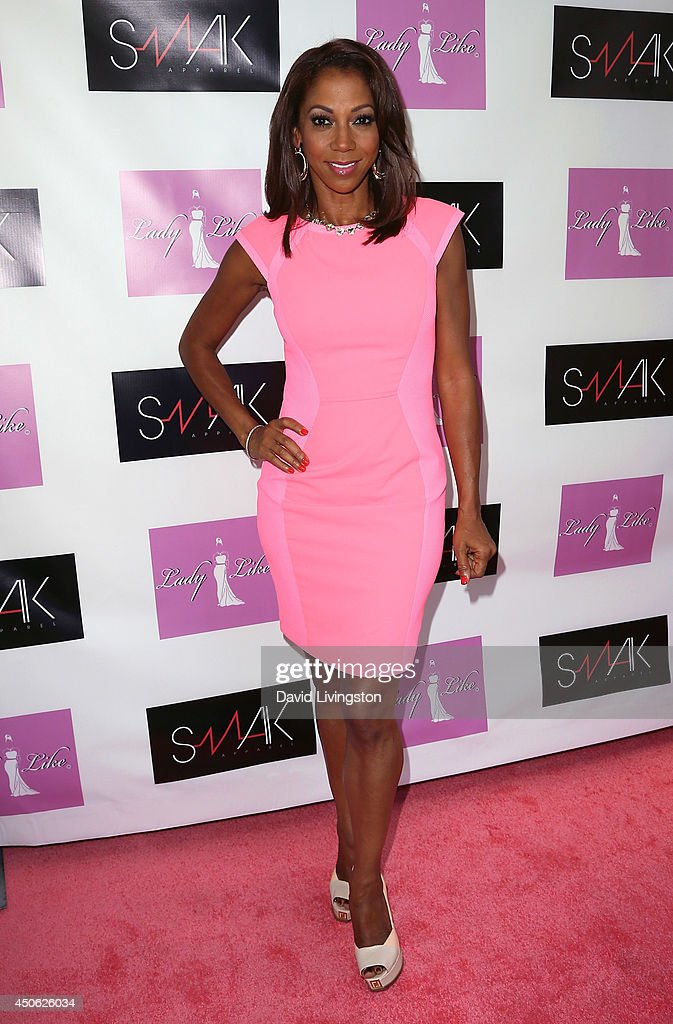 Actress <a gi-track='captionPersonalityLinkClicked' href=/galleries/search?phrase=Holly+Robinson+Peete&family=editorial&specificpeople=213716 ng-click='$event.stopPropagation()'>Holly Robinson Peete</a> attends the LadyLike Foundation's 6th Annual Women of Excellence Scholarship Luncheon at the Luxe Hotel on June 14, 2014 in Los Angeles, California.
