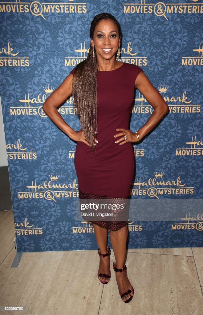 Actress Holly Robinson Peete attends the premiere of Hallmark Movies & Mysteries' 'Garage Sale Mystery' at The Paley Center for Media on August 1, 2017 in Beverly Hills, California.
