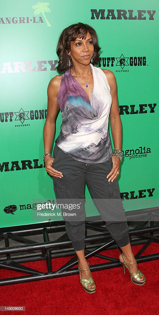 Actress Holly Robinson Peete attends the Premiere of Magnolia Pictures' 'Marley' at the ArcLight Hollywood on April 17, 2012 in Hollywood, California.