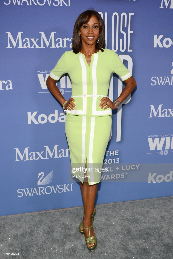 Actress Holly Robinson Peete attends Women In Film's 2013 Crystal Lucy Awards at The Beverly Hilton Hotel on June 12 2013 in Beverly Hills California