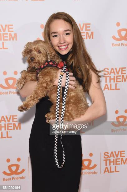 Actress Holly Taylor attends the 2017 Best Friends Benefit To Save Them All on April 3 2017 in New York City