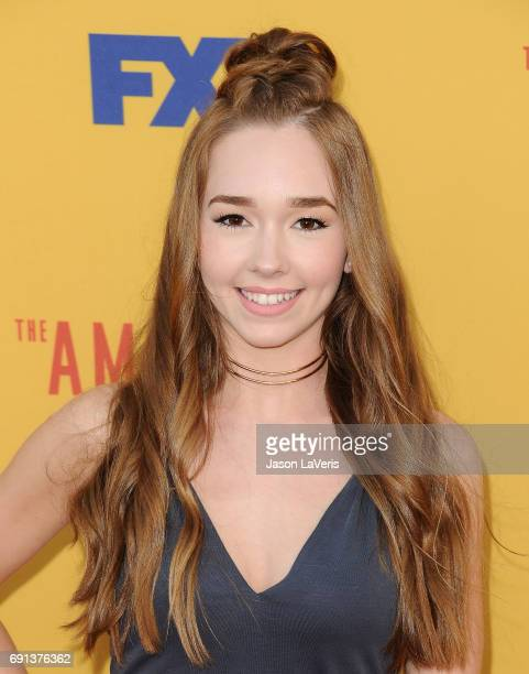 Actress Holly Taylor attends 'The Americans' For Your Consideration event at Saban Media Center on June 1 2017 in North Hollywood California