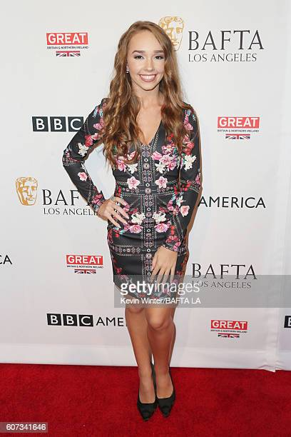 Actress Holly Taylor attends the BBC America BAFTA Los Angeles TV Tea Party 2016 at The London Hotel on September 17 2016 in West Hollywood California