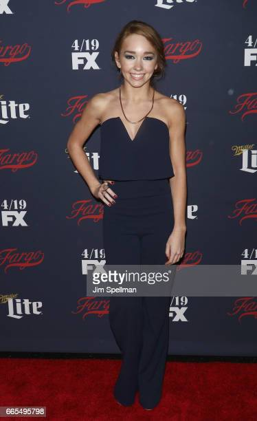 Actress Holly Taylor attends the FX Network 2017 AllStar Upfront at SVA Theater on April 6 2017 in New York City