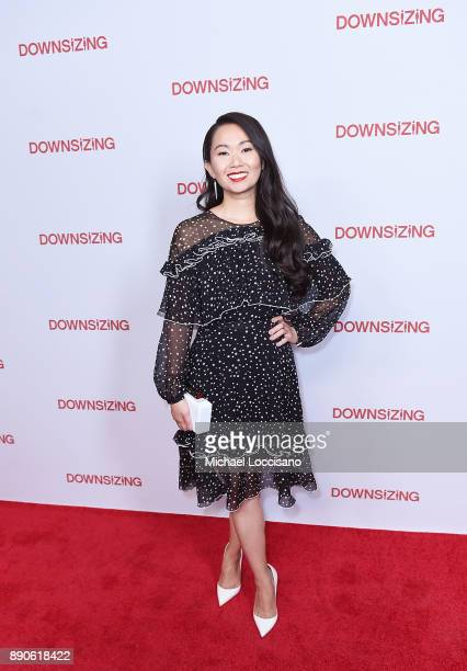 Actress Hong Chau attends the New York screening of 'Downsizing' at AMC Lincoln Square Theater on December 11 2017 in New York City