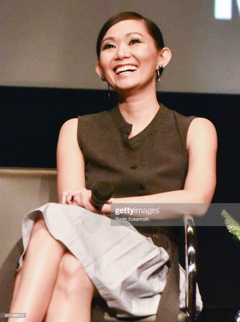 Actress Hong Chau speaks onstage at Hammer Museum presents The Contenders 2017 with 'Downsizing' screening at Hammer Museum on December 6, 2017 in Los Angeles, California.