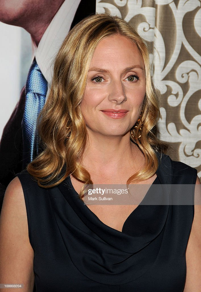 Actress Hope Davis attends HBO Film's 'The Special Relationship' Los Angeles Premiere at Directors Guild Theatre on May 19, 2010 in West Hollywood, California.