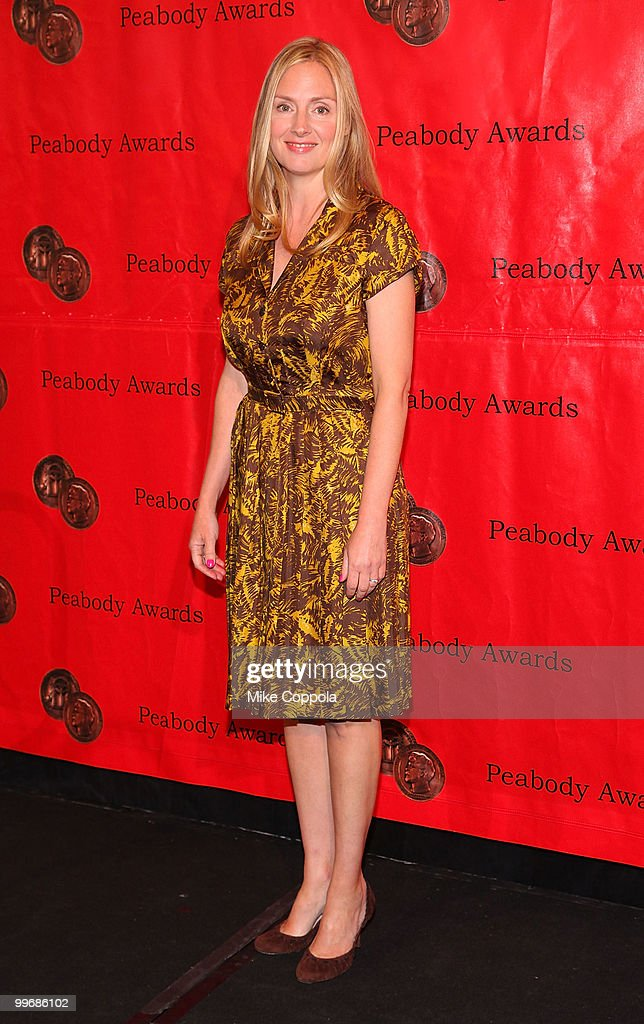 Actress Hope Davis attends the 69th Annual Peabody Awards at The Waldorf Astoria on May 17 2010 in New York City