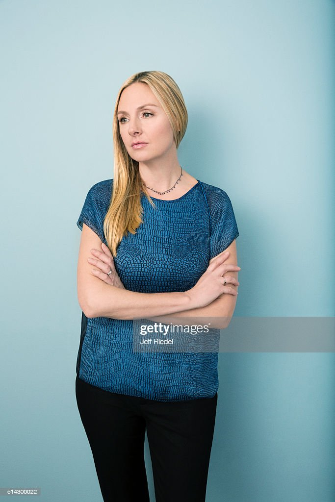 Actress Hope Davis is photographed for TV Guide Magazine on January 16, 2015 in Pasadena, California.