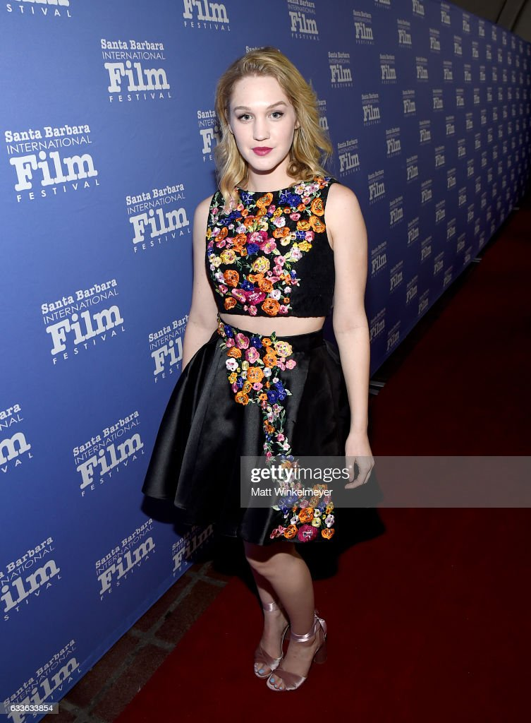 Actress Hope Lauren of 'Different Flowers' attends the Maltin Modern Master Award tribute during the 32nd Santa Barbara International Film Festival at the Arlington Theater on February 2, 2017 in Santa Barbara, California.