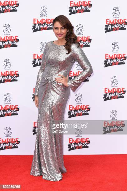 Actress Huma Qureshi attends the THREE Empire awards at The Roundhouse on March 19 2017 in London England