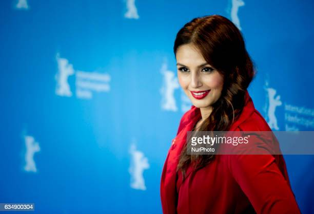 Actress Huma Qureshi attends the Viceroys House photocall during the 67th Berlinale International Film Festival Berlin at Grand Hyatt Hotel on...
