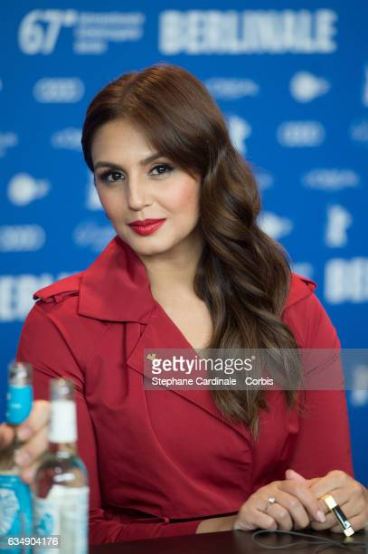 Actress Huma Qureshi attends the 'Viceroy's House' press conference during the 67th Berlinale International Film Festival Berlin at Grand Hyatt Hotel...