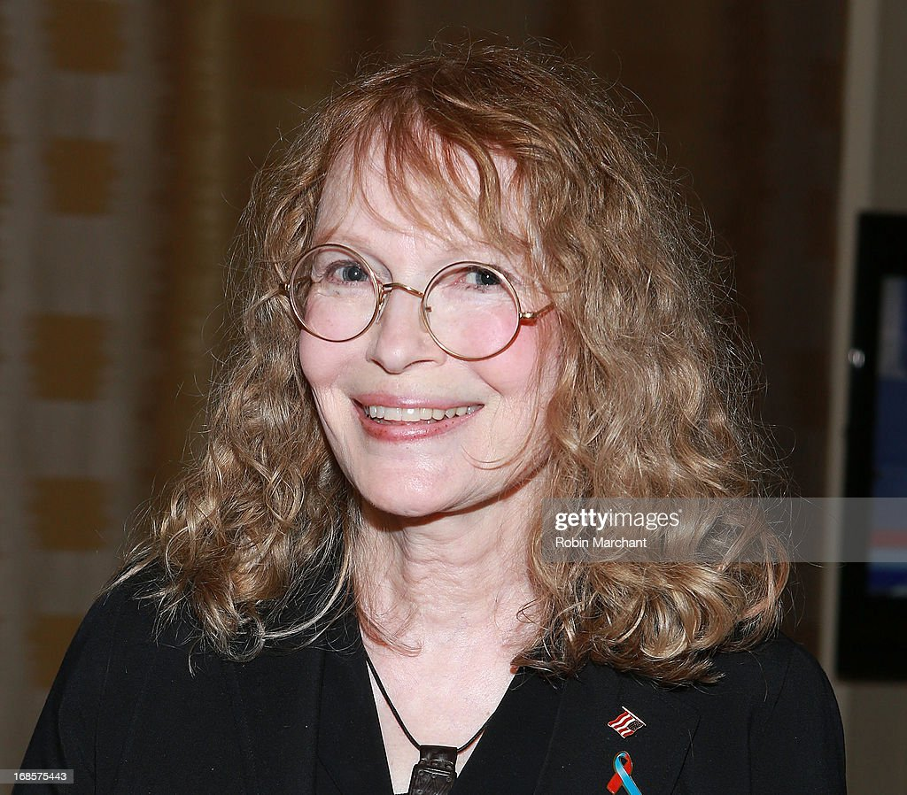Actress/ Humanitarian <a gi-track='captionPersonalityLinkClicked' href=/galleries/search?phrase=Mia+Farrow&family=editorial&specificpeople=93764 ng-click='$event.stopPropagation()'>Mia Farrow</a> attends Ellis Island Medals Of Honor Pre-Gala Reception at Ritz Carlton Hotel on May 11, 2013 in New York City.