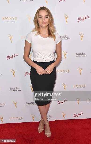Actress Hunter King attends a cocktail reception hosted by the Academy of Television Arts Sciences celebrating the Daytime Peer Group at Montage...