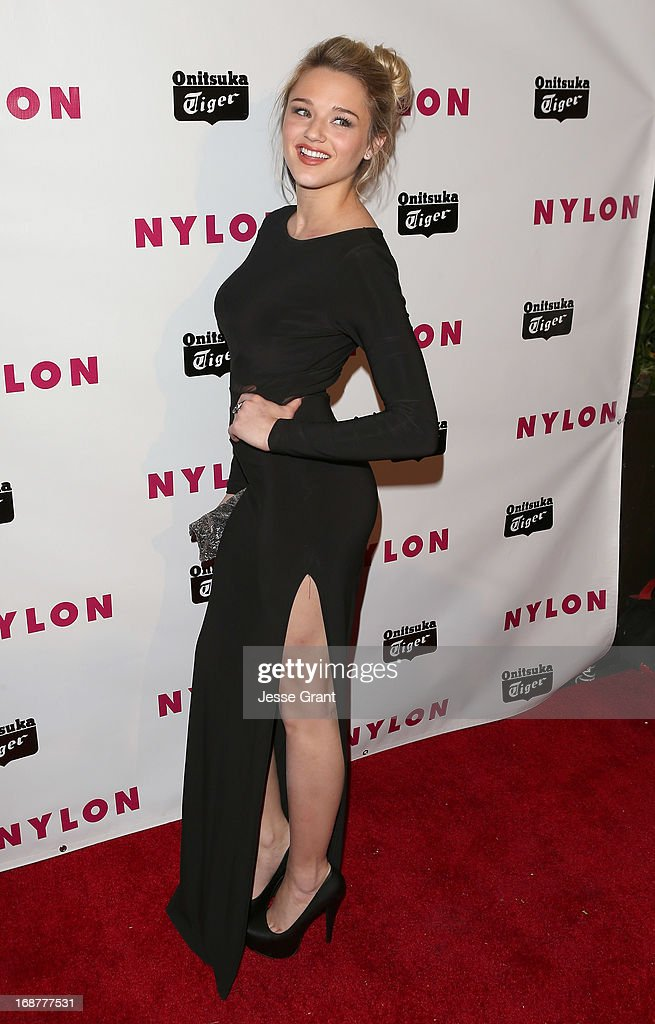 Actress Hunter King attends the NYLON Magazine Annual May Young Hollywood Issue Party at The Roosevelt Hotel on May 14, 2013 in Hollywood, California.