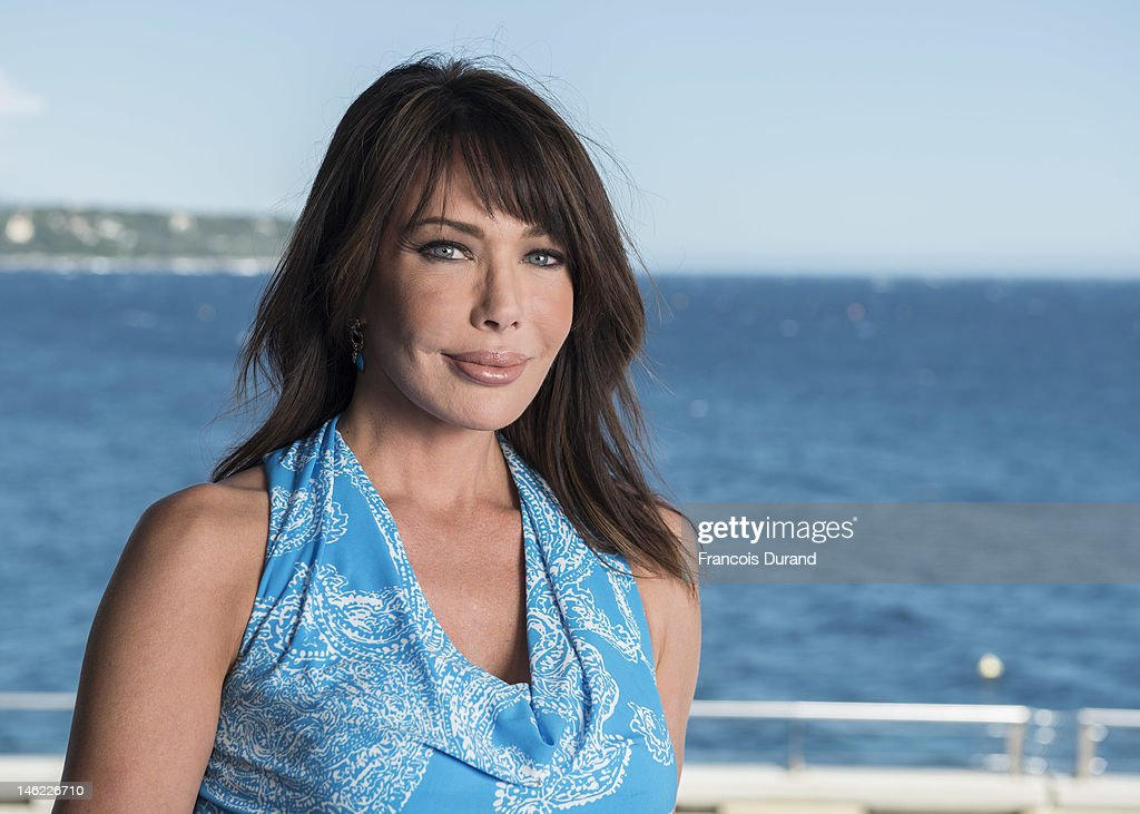 Actress Hunter Tylo poses for a portrait session during the 52nd Monte Carlo TV Festival on June 12, 2012 in Monaco, Monaco.