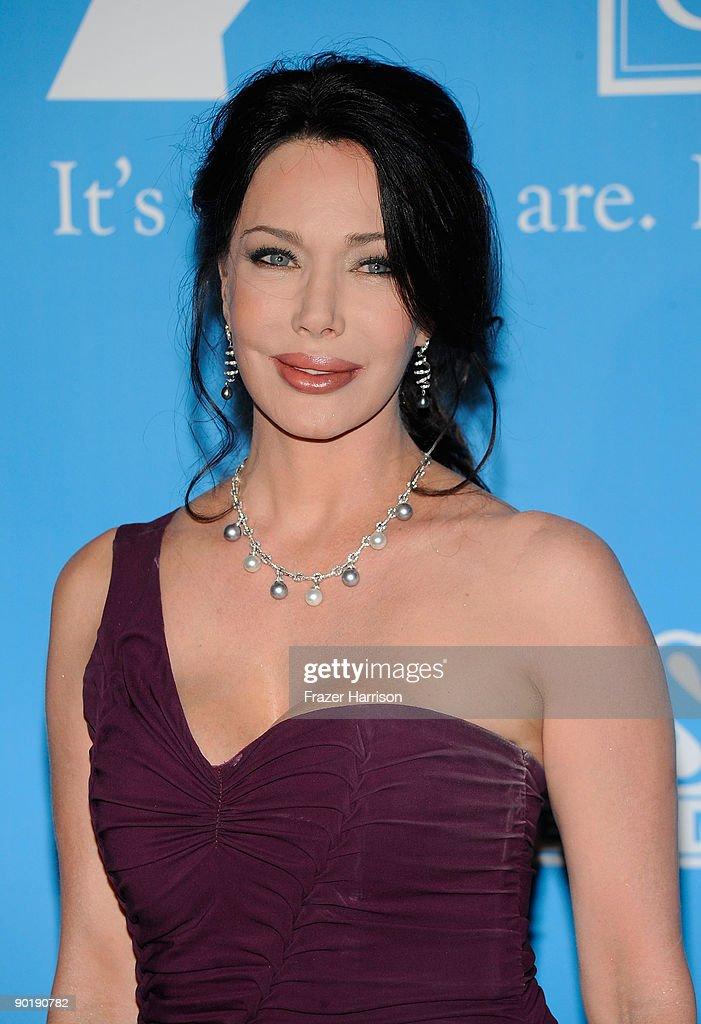 Actress Hunter Tylo poses in the press room at the 36th Annual Daytime Emmy Awards at The Orpheum Theatre on August 30, 2009 in Los Angeles, California.