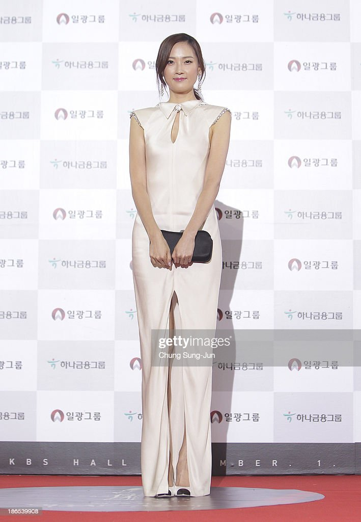Actress Hye Park arrives for the 50th Daejong Film Awards at KBS hall on November 1, 2013 in Seoul, South Korea.