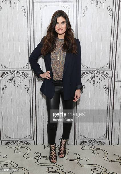 Actress Idina Menzel attends the Build series at AOL HQ on September 21 2016 in New York City